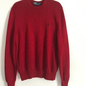 Men's Polo By Ralph Lauren Pullover Sweater Large